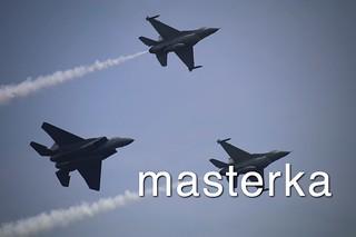 F-16C三機アップ
