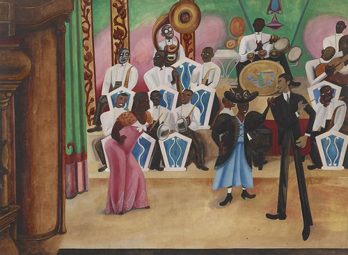 Edward Burra, The Band, 1934, HIGH RES