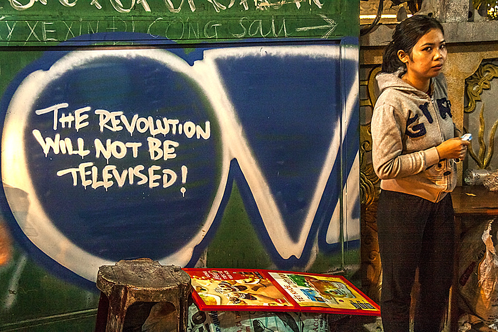 THE REVOLUTION WILL NOT BE TELEVISED--Saigon