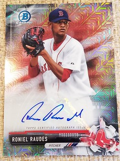 Red Sox prospects cards