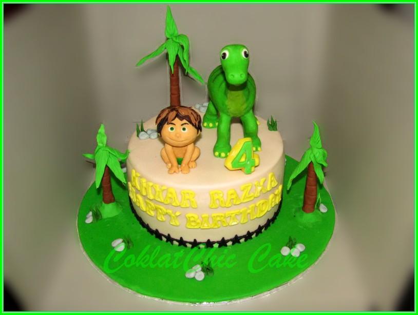 Cake Good Dinosaur KHYAR RAZKA 15cm