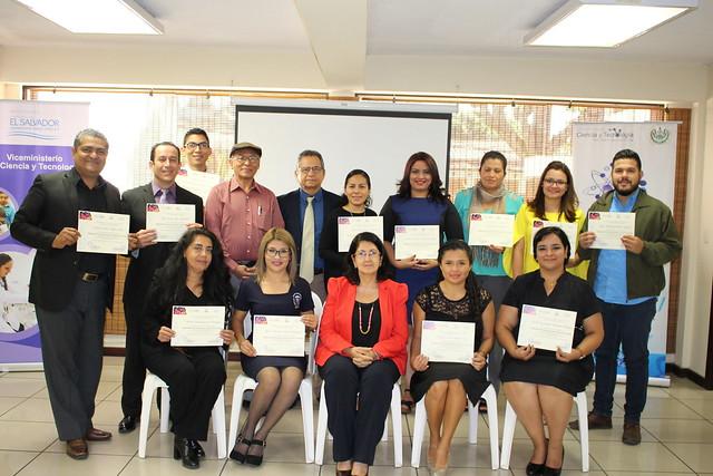 Graduación del Diplomado de Comunicación Social de la Ciencia Periodistas 2017