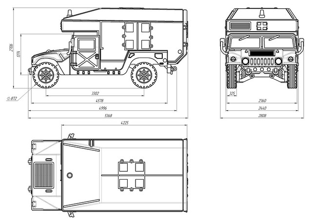 Humvee Ambulance