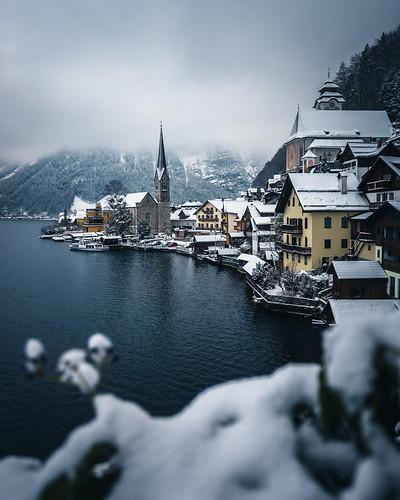 Hallstatt in Winter from Toni Hoffmann