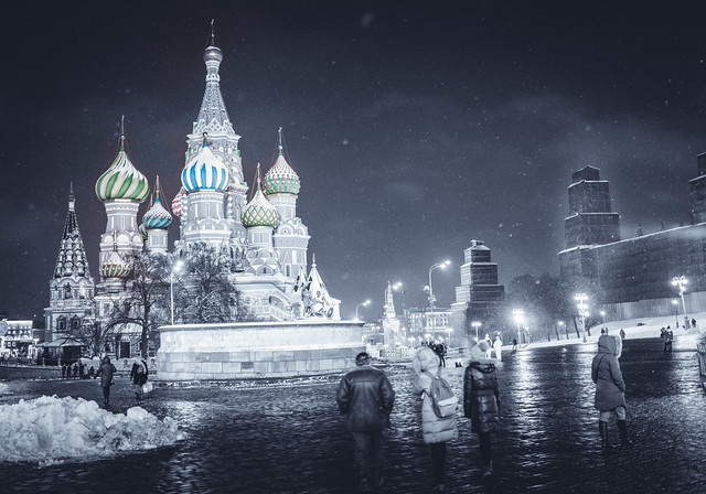 Moscow. Winter Wanderings V.