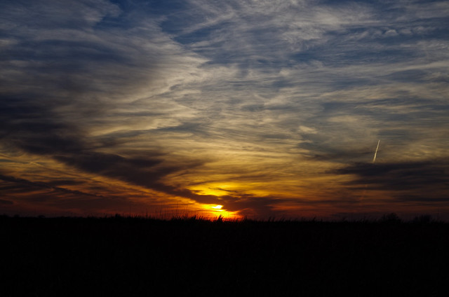 sunset, Pentax K-50, smc PENTAX-DA 40mm F2.8 Limited
