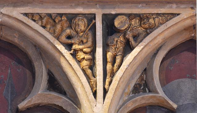 Kortrijk, West-Vlaanderen, Onze-Lieve-Vrouw, gravenkapel, zwik