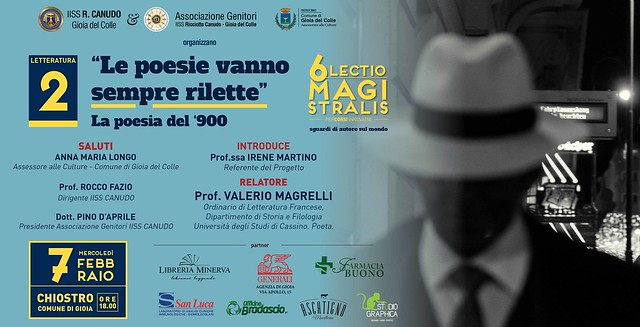 valerio magrelli Lectio Magistralis