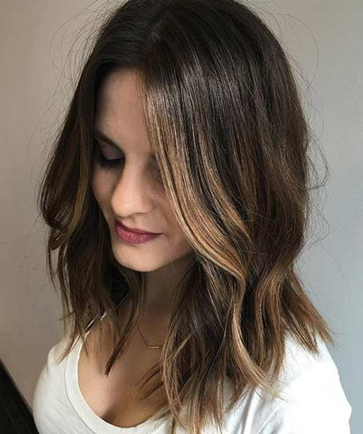 Medium Length Hairstyles For Hair - Medium Length Haircuts 2018