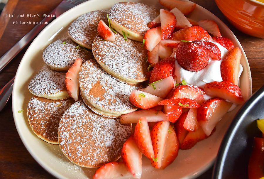 ici cafe 台南草莓鬆餅 早午餐08
