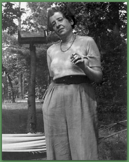 Hannah Arendt nel 195