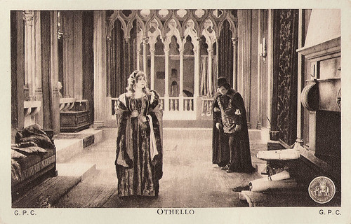 Ica von Lenkeffy and Theodor Loos in Othello (1922)