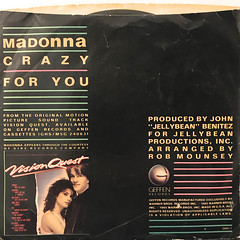 MADONNA:CRAZY FOR YOU(JACKET B)