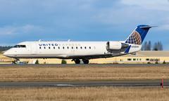 N908SW United Express Bombardier CRJ-200ER@YYJ 17Feb18