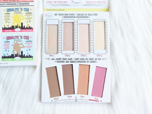 The Balm Cosmetics Highlite 'N Con Tour Palette3