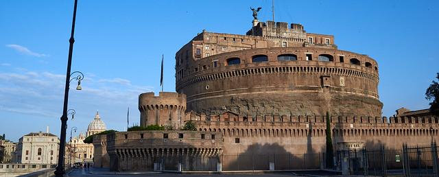 Castel Sant'Angelo, Nikon D610, Nikon AF-S NIKKOR 35mm f/1.8G ED