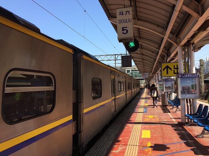 斗六車站月台