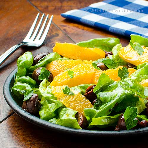 Moroccan-Spiced Orange and Olive Salad