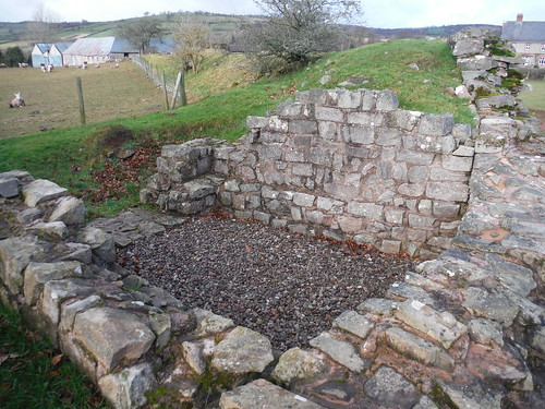 Turret Remnants of Y Gaer (Cicucium Roman Fort)