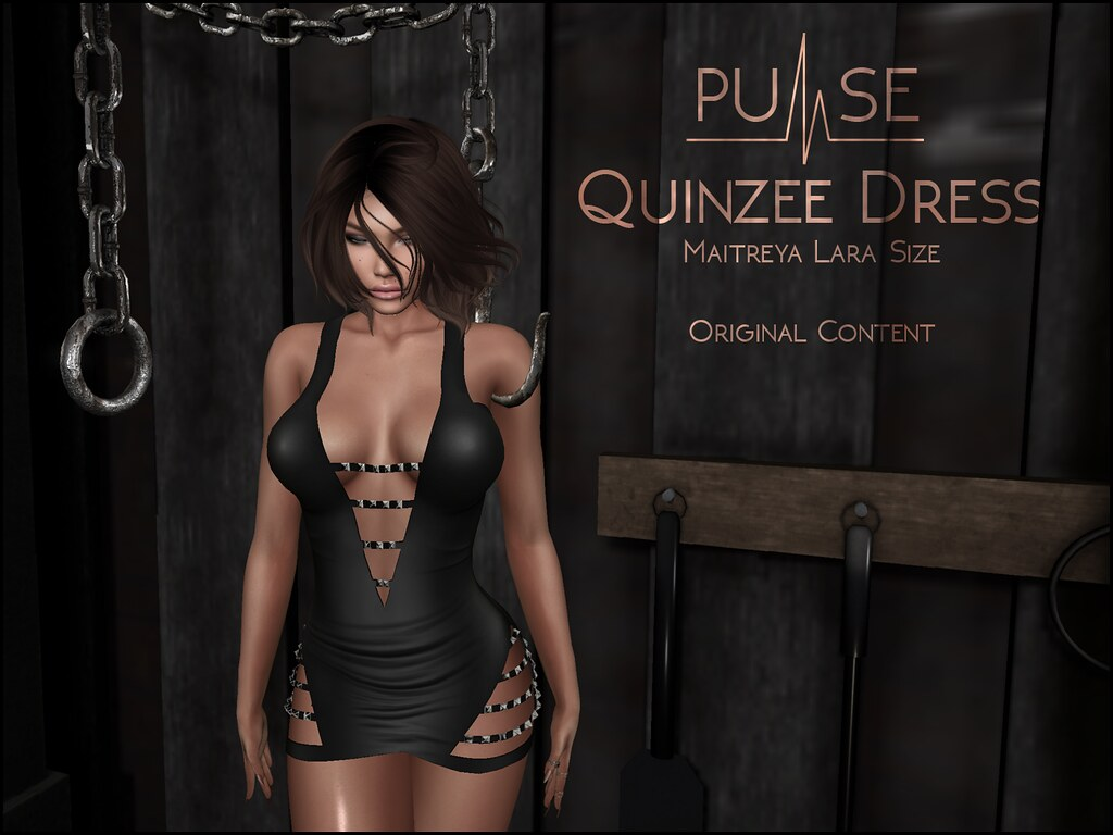 PULSE Quinzee dress @ ROMP