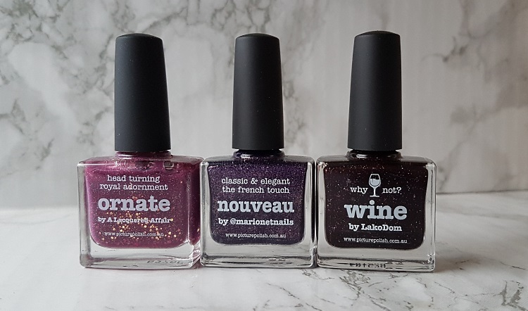 picture polish ornate nouveau wine