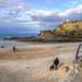 The beach at Portreath, North Cornwall
