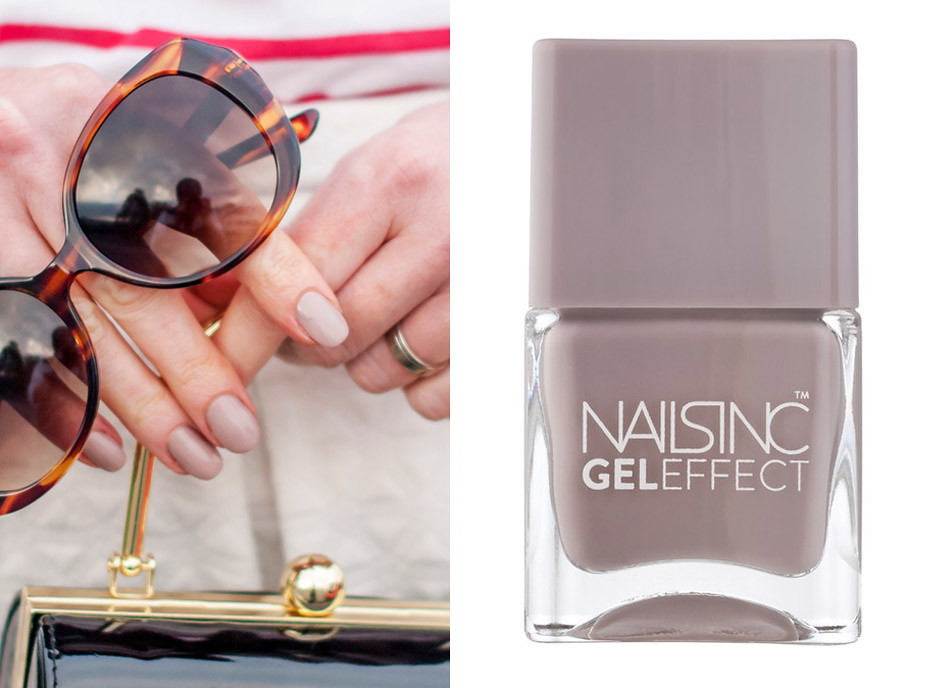 My Top 9 Hero Beauty Products for Over 40 Women - Nails Inc Porchester Square nail polish | Not Dressed As Lamb