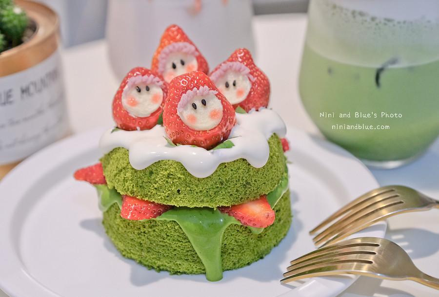 有點甜 草莓 抹茶 蛋糕 甜點11
