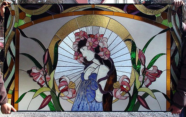 vitráž obraz