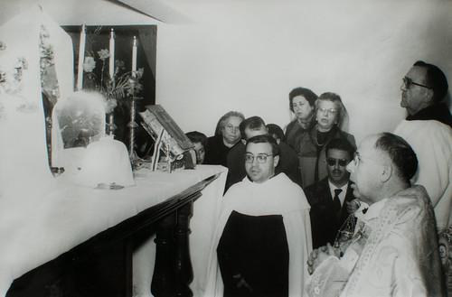 24 de noviembre, San Juan de la Cruz [5] - Bendición, Sacrificio, alocución del Padre Provincial.