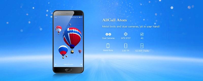 ALLCALL Atom レビュー (2)