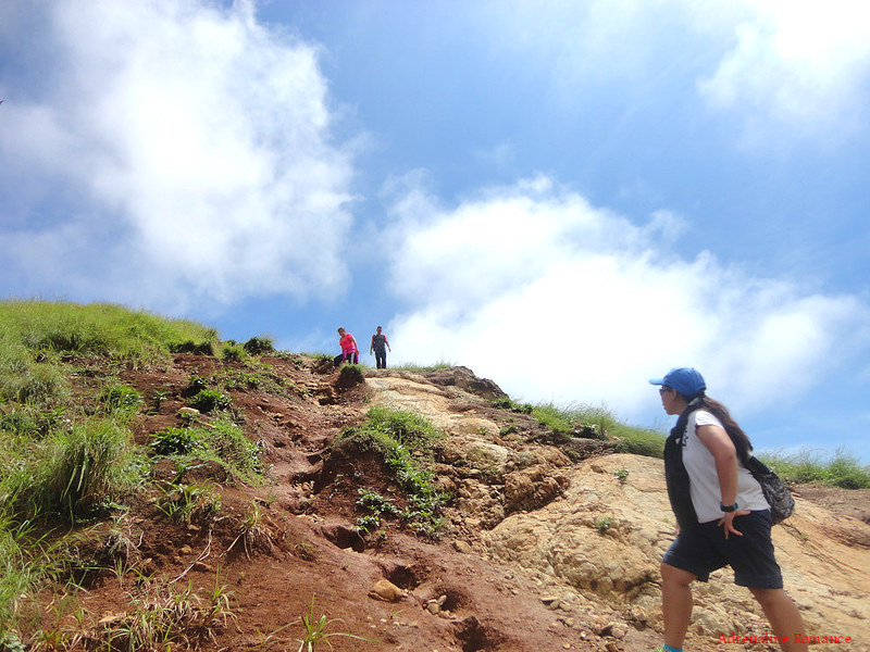 Climbing the summit of Pico De Loro