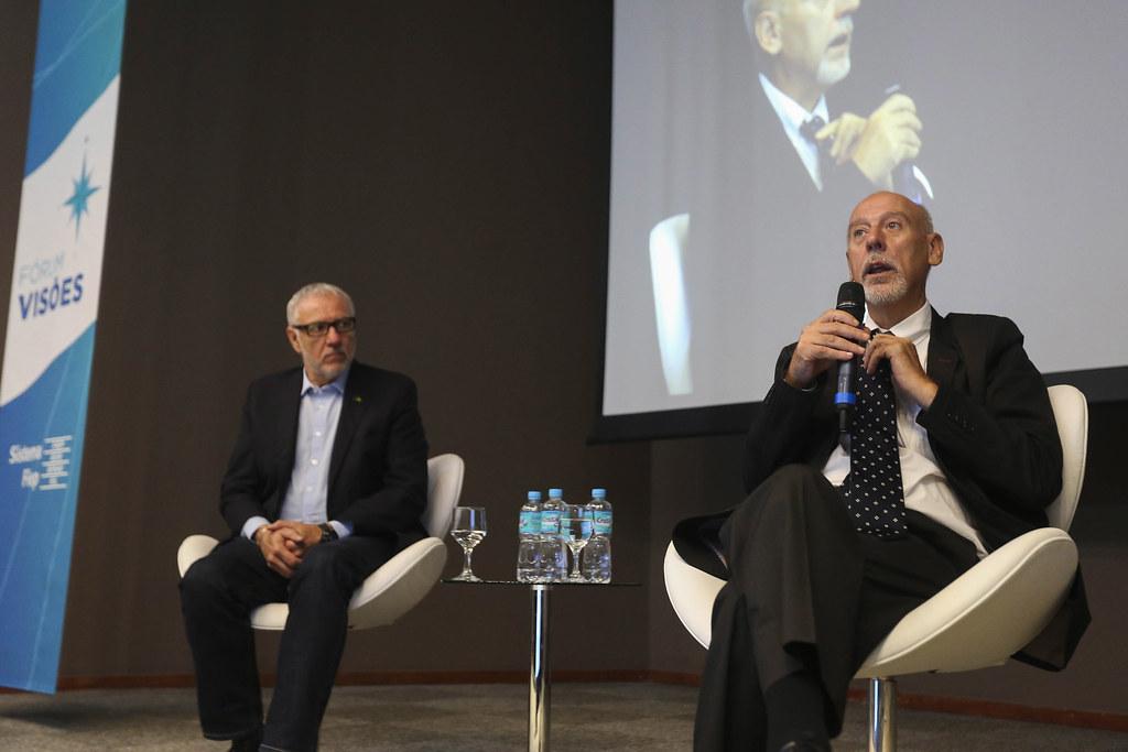 Fórum Visões -Paulo Tafner discute Reforma da Previdência