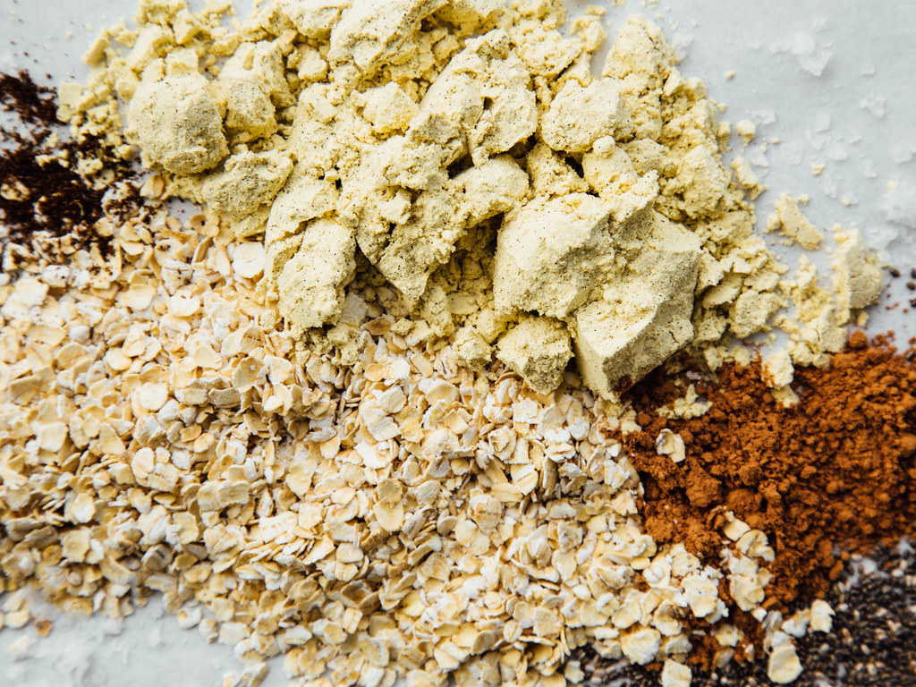 Protein oats ingredients