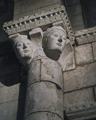 Capital with Faces 1/18/11 #metcloisters