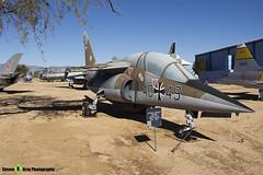 40+49 - 0049 - German Air Force - Dassault-Dornier Alpha Jet A - Pima Air and Space Museum, Tucson, Arizona - 141226 - Steven Gray - IMG_8729