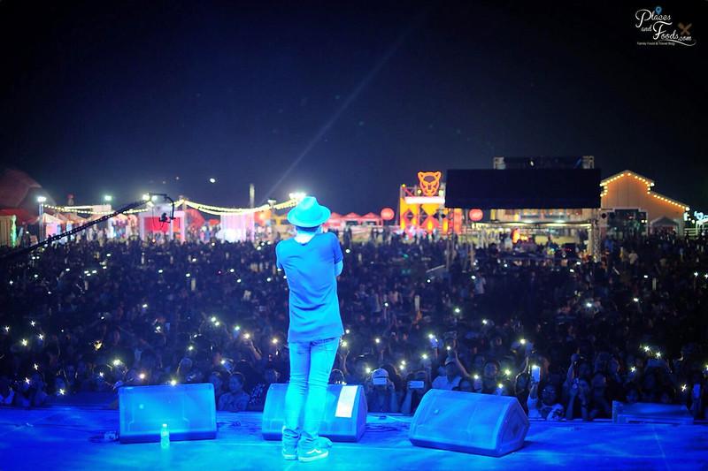 singha park hot air balloon 2018 concert