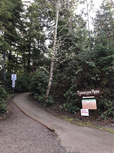 Tofino - Tonquin Park trailhead