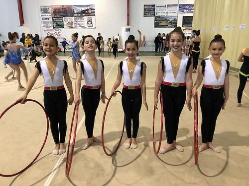 Club Gimnasia Rítmica en la I Fase del Circuito Provincial