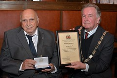 Cllr William and Dr Glyn Court