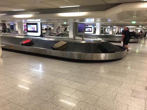 147 - Gepäckband - Flughafen Frankfurt / Baggage conveyor belt - Frankfurt Airport