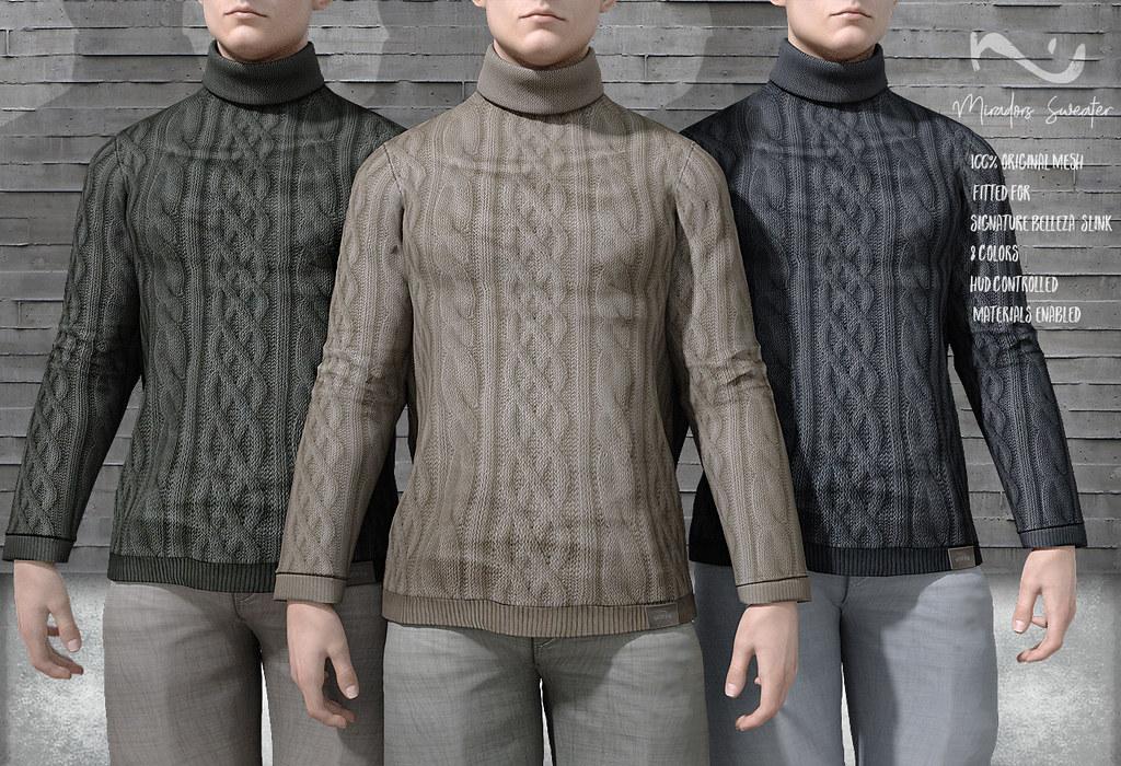 -NU- Miradors Sweater - TeleportHub.com Live!