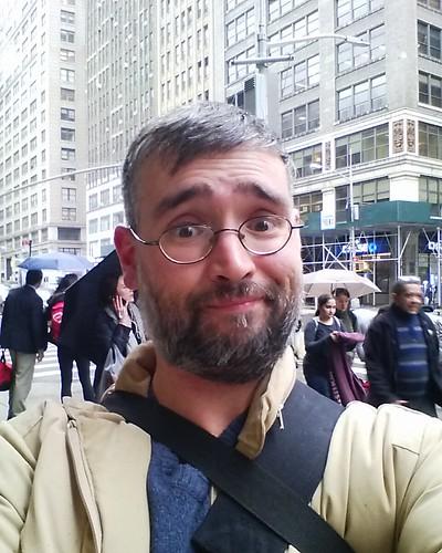Arrival selfie #newyorkcity #newyork #me #selfie #manhattan #seventhavenue #west27thstreet #west27th