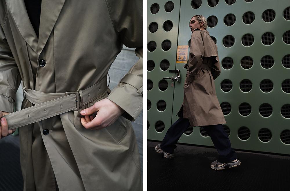 MikkoPuttonen_Fashionblogger_London_Asos_Menswear_Trenchcoat_Tonsure_BalenciagaTrepleS11_web