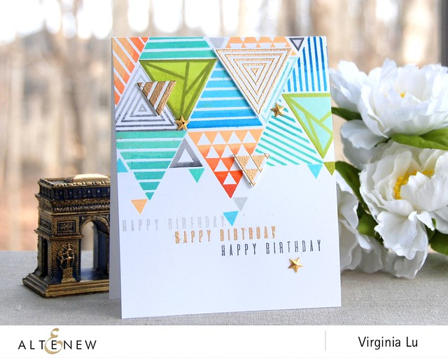 Altenew_TrigonometryStampDie_Virginia #1