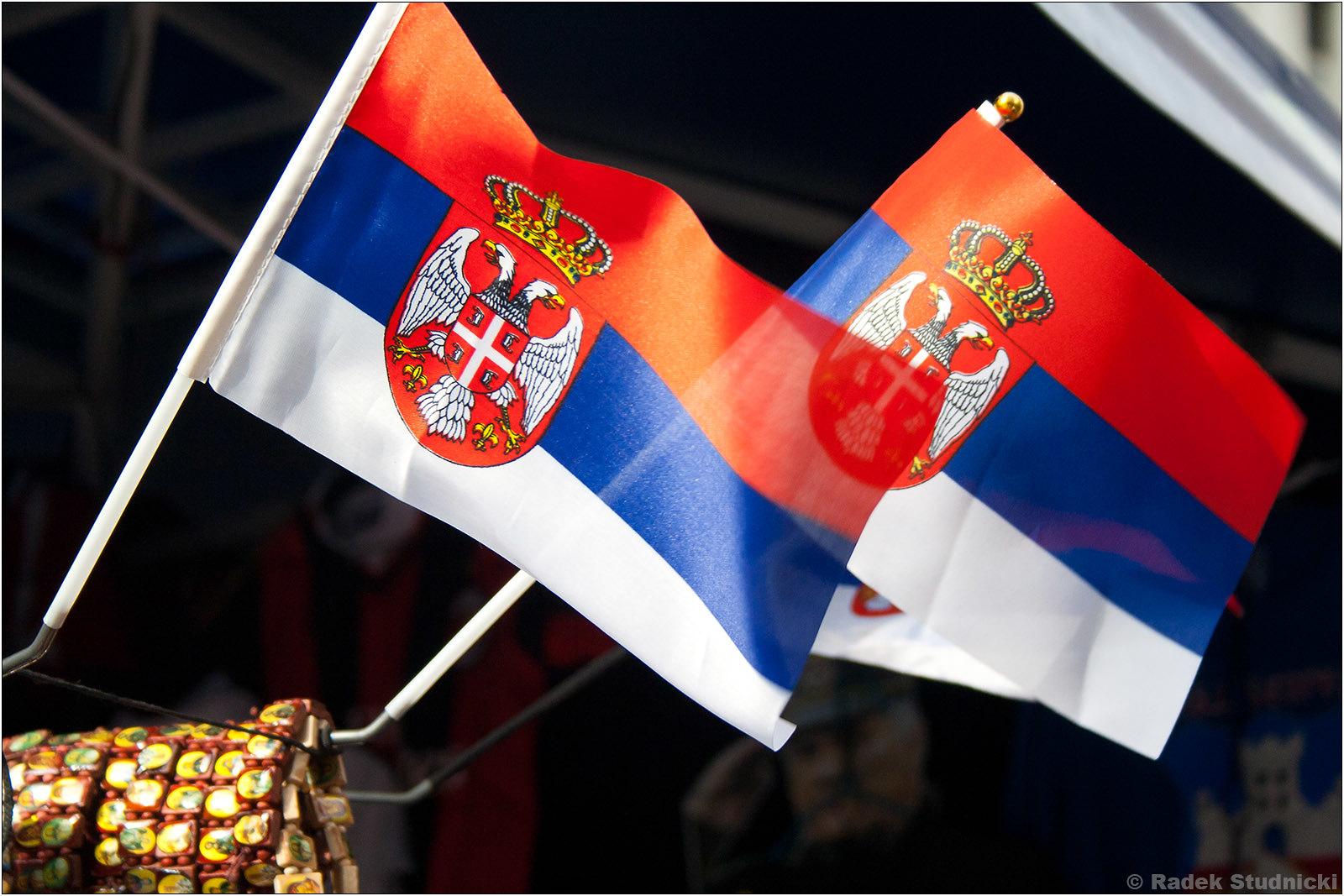 Flagi Serbii