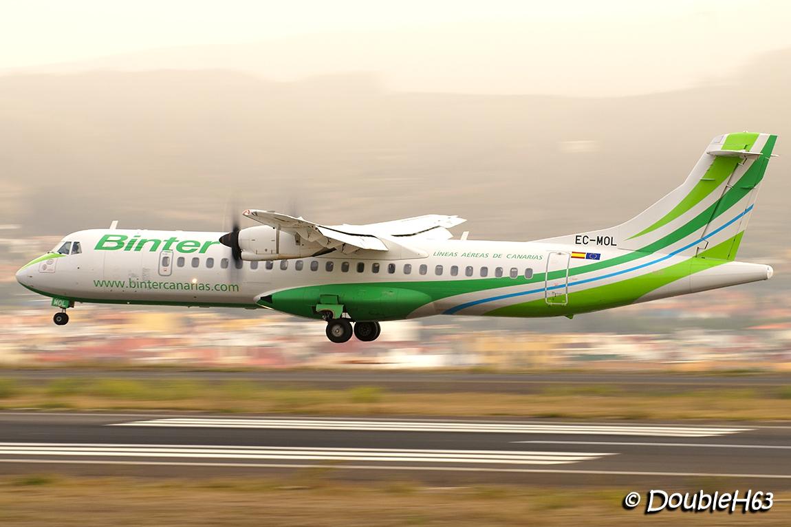 EC-MOL ATR72 Binter TFN