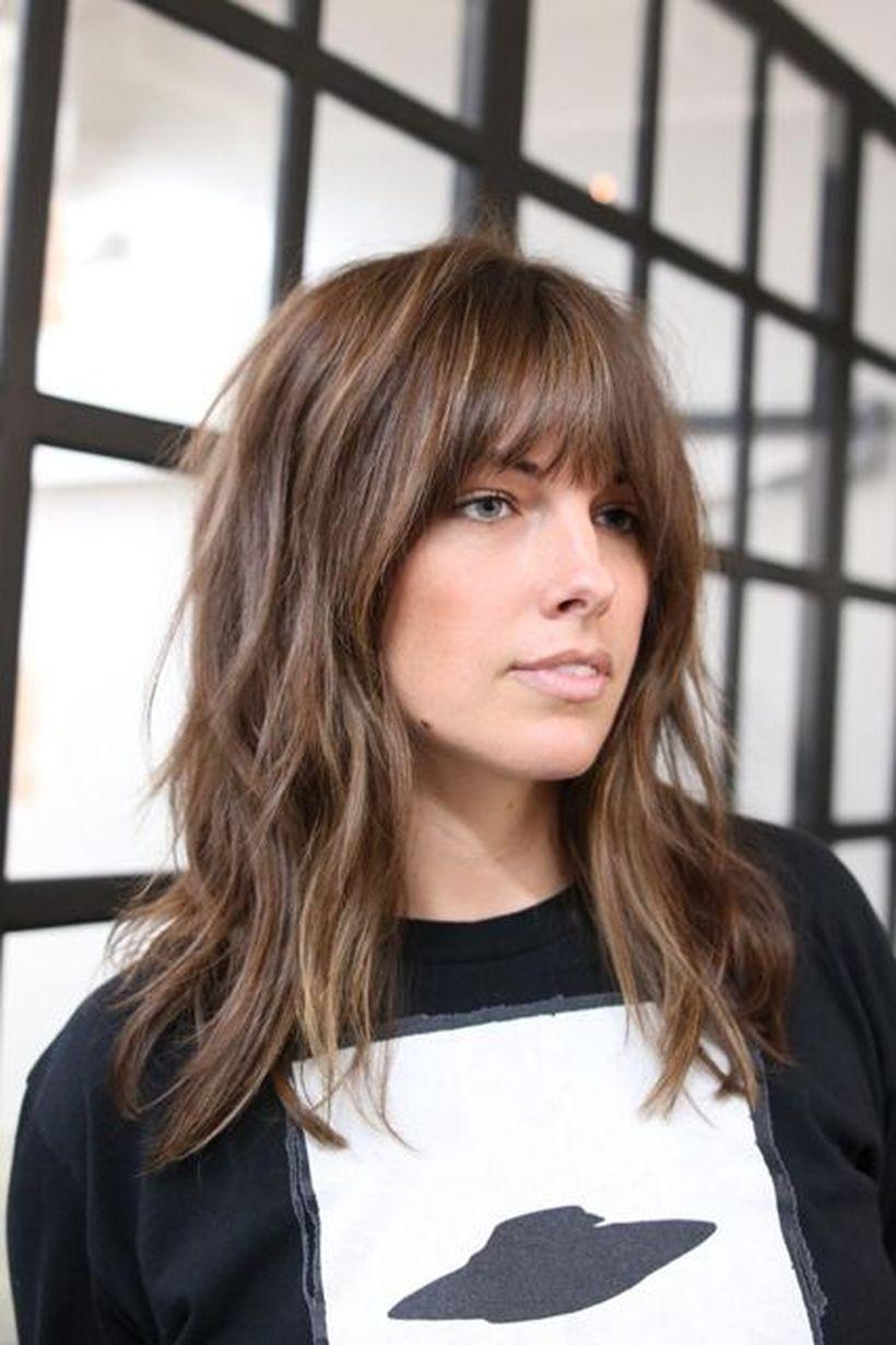 Modern Medium Shag Haircut Hairstyle Ideas For 2018 Fashionre
