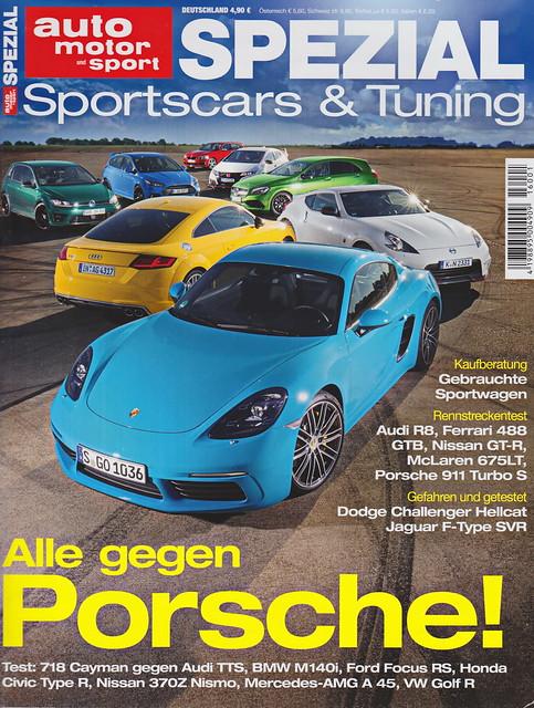 auto motor sport Spezial - Sportscars & Tuning 1/2016