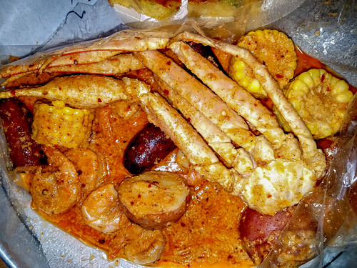 Seafood Boil in a Bag